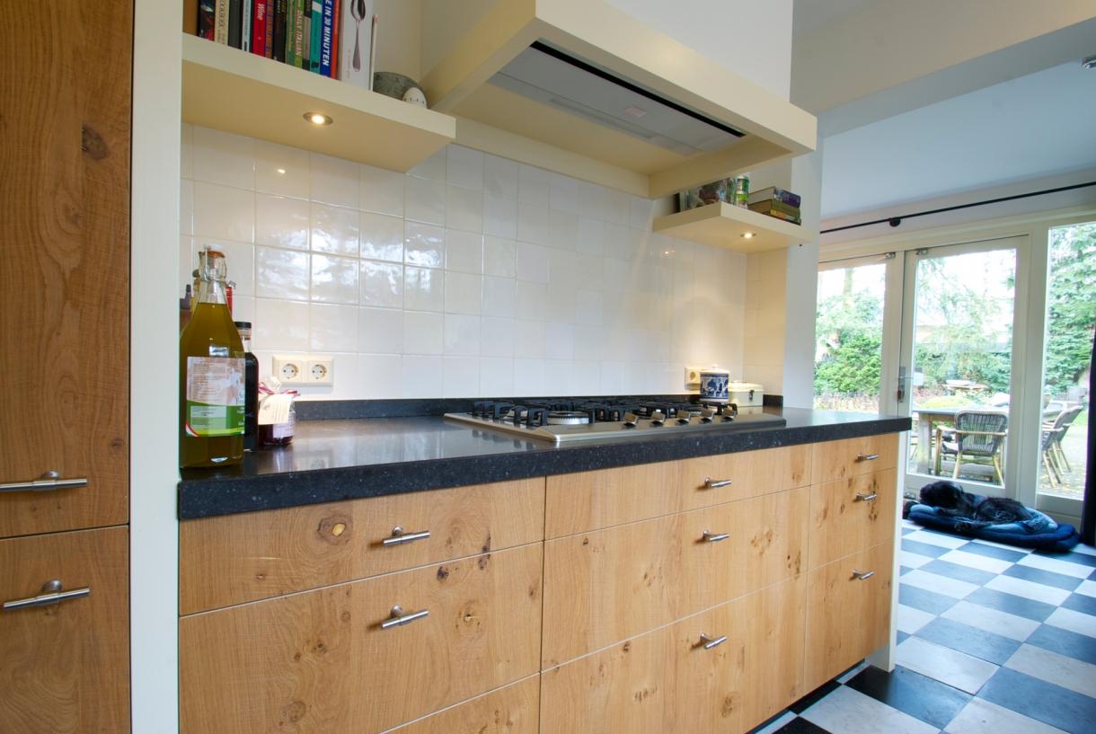 Houten keuken, den dolder   piet de wit keukens in zeist