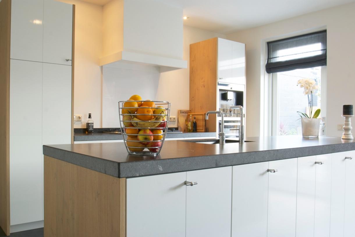 Tijdloze keuken, Woudenberg - Piet de Wit Keukens in Zeist