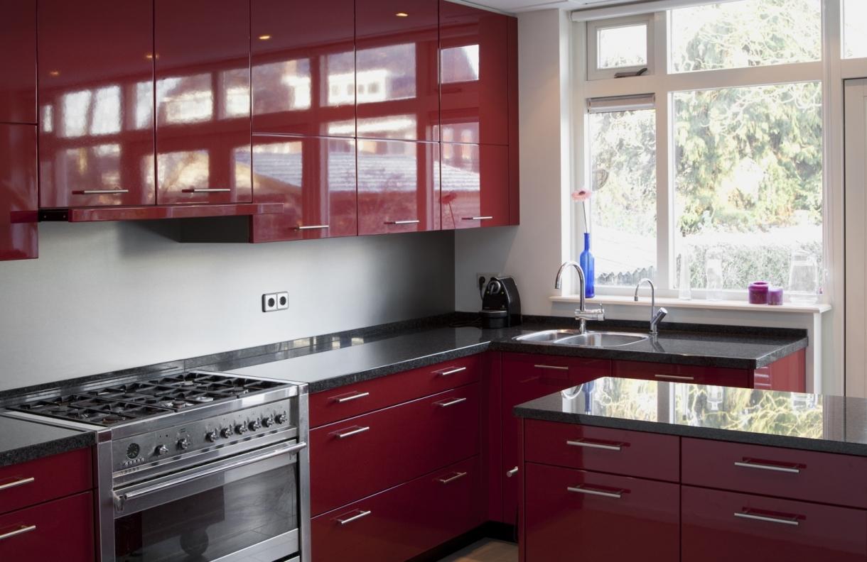 Hoogglans keuken, zeist   piet de wit keukens in zeist